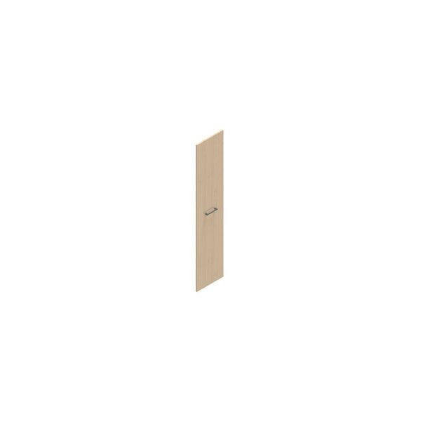 Jive+ låge t/5 rum i højden m/lås birk finer