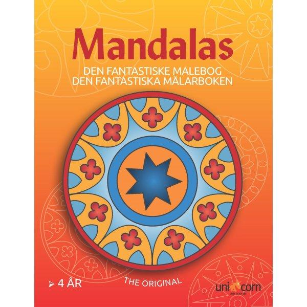 Mandalas malebog Den fantastiske, fra 4 år