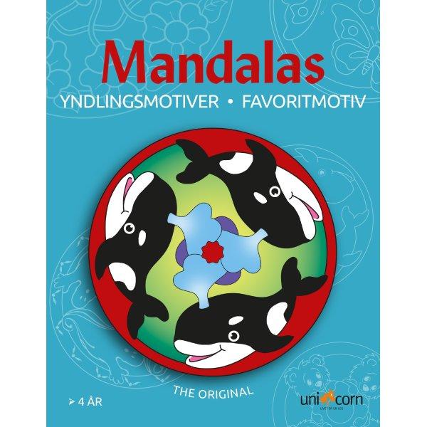 Mandalas malebog Yndlingsmotiver, fra 4 år