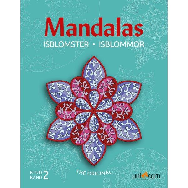 Mandalas malebog Isblomster, bind II