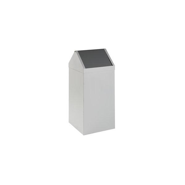 Affaldsspand Square two 100 liter, 380x400x880 mm
