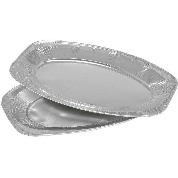 Alu serveringsfad ovalt, mellem
