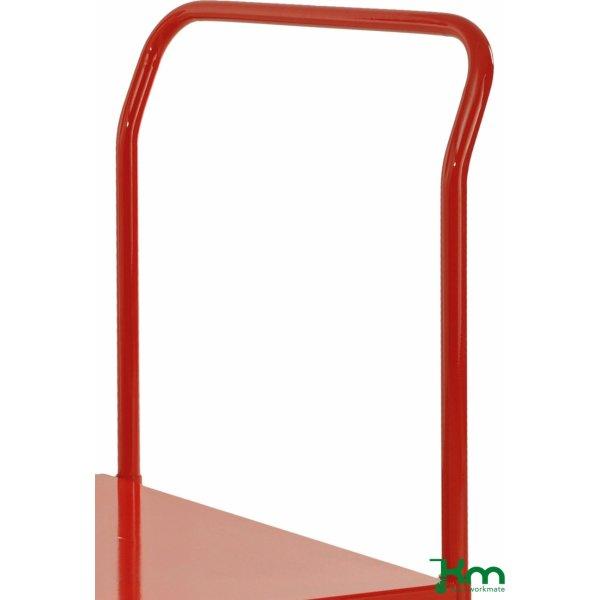 Bøjle til transportvogn 830, 73x90 cm, Rød
