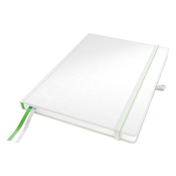 Leitz Complete notesbog A4, linjeret, hvid