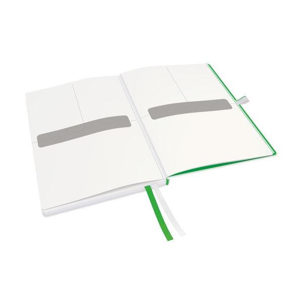 Leitz Complete notesbog A5, kvadreret, hvid
