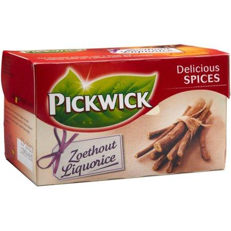 Pickwick lakridsrodste, 20 breve
