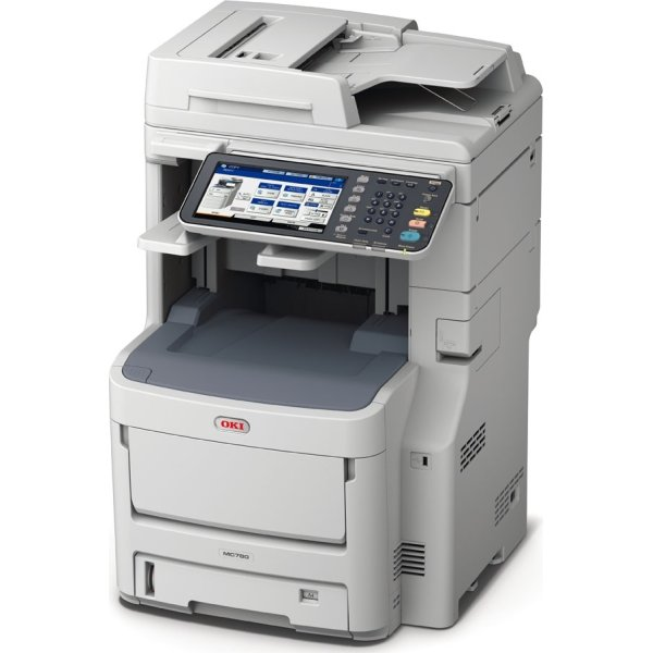 OKI MC780dfnfax MFP color LED laserprinter