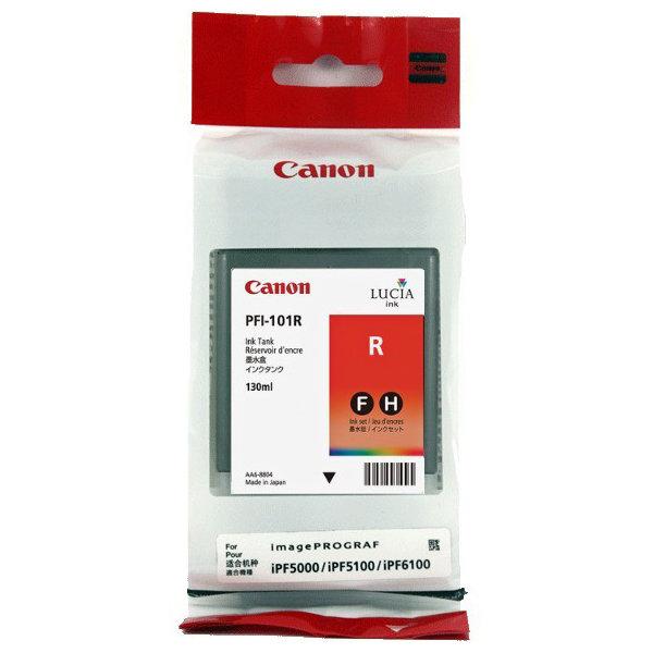 Canon PFI-101R blækpatron, rød, 130ml
