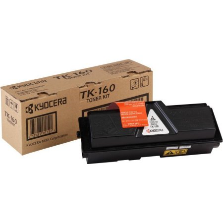 Kyocera TK-160 lasertoner, sort, 2500s
