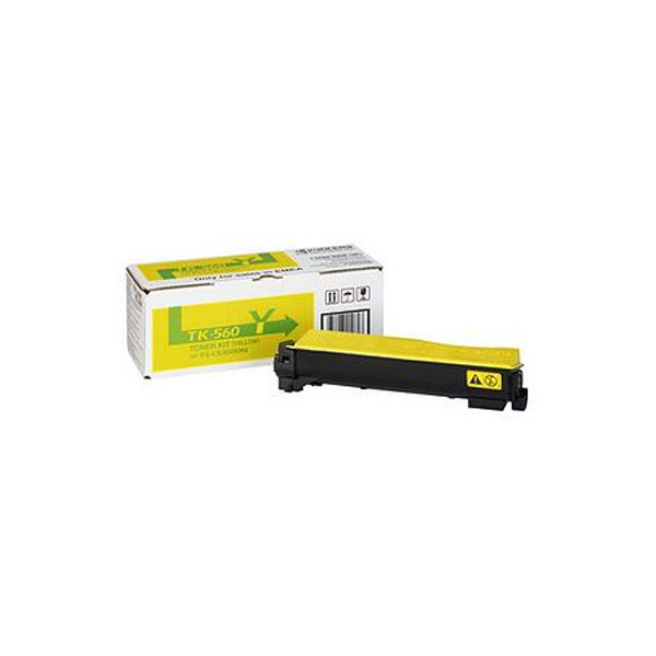 Kyocera TK-560Y  lasertoner, gul, 10000s