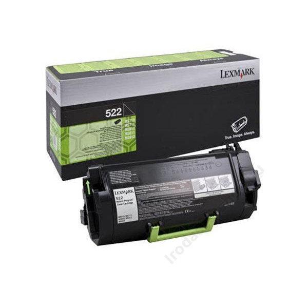 Lexmark 52D2000 lasertoner, sort, 6000s
