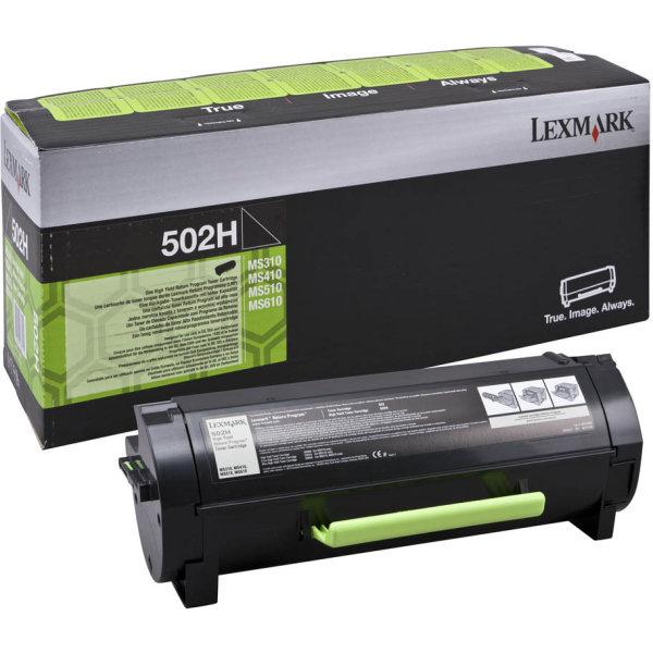 Lexmark 60F2X00 HC lasertoner, sort, 20000s