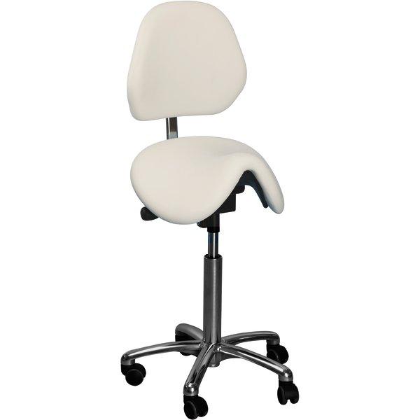 CL Pinto sadelstol m/ ryglæn, blå, stof