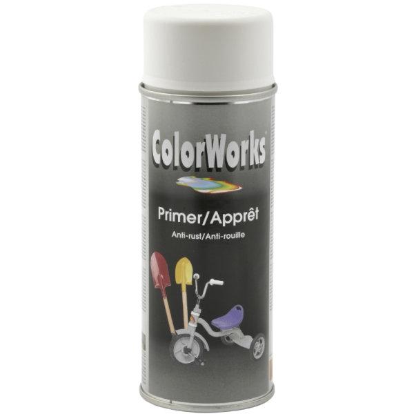 ColorWorks hobbyspray, grunder hvid