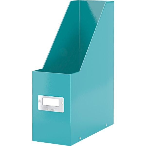 Leitz Click & Store tidsskriftholder, isblå