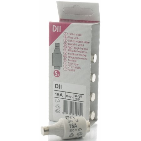 E:ZO Diazed DZ2 Sikring, 10A, 5 stk.