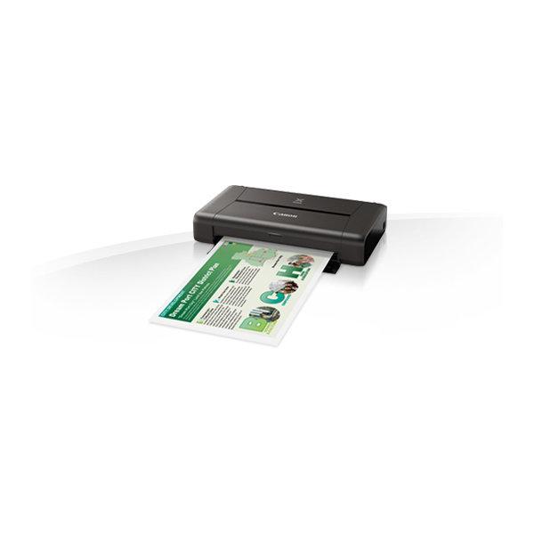 Canon PIXMA iP110 fotoprinter m/batteri