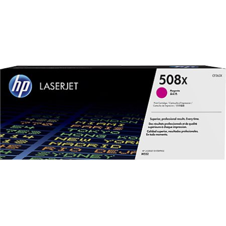 HP 508X/CF363X Lasertoner, rød, 9500s.