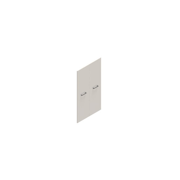 Jive lågesæt t/4 rum u/lås hvid dekor laminat