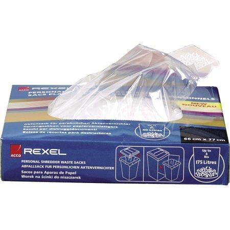 Rexel 40070 makulatorposer 115L, 100 stk.