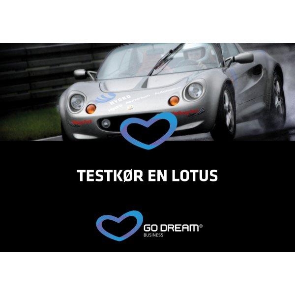Oplevelsesgave - Testkør en Lotus