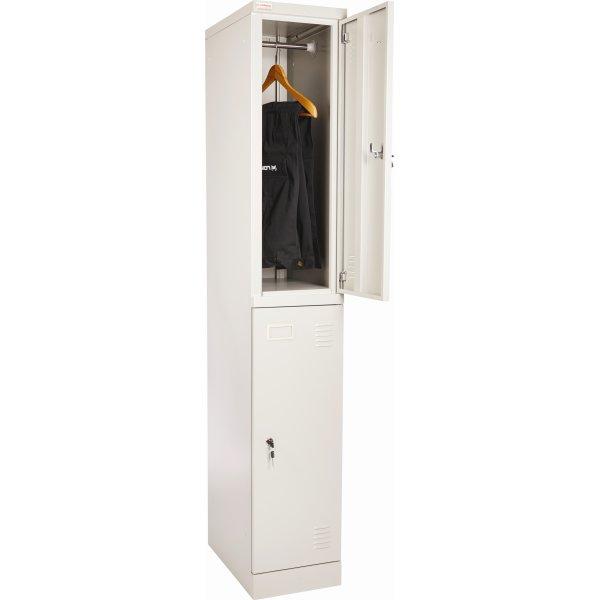 Lomax garderobeskab 2 døre, H180xB30xD50