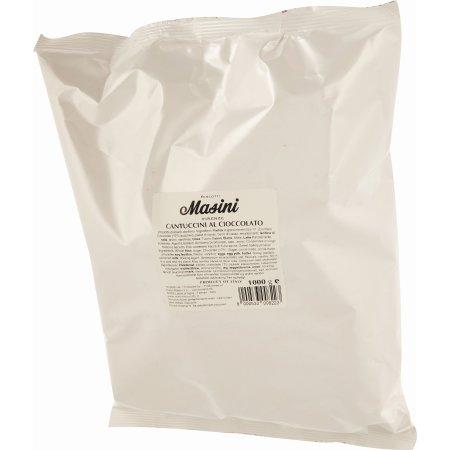 Masini Cantuccini mandelsmåkager m. chokolade, 1kg