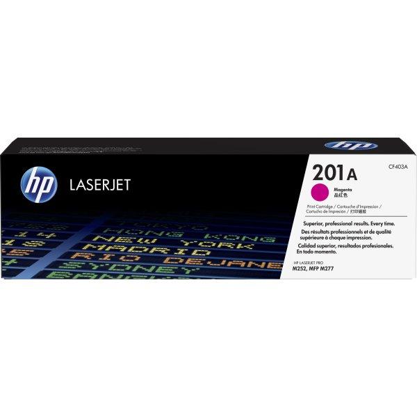 HP 201A/CF403A Lasertoner, magenta, 1400 s.