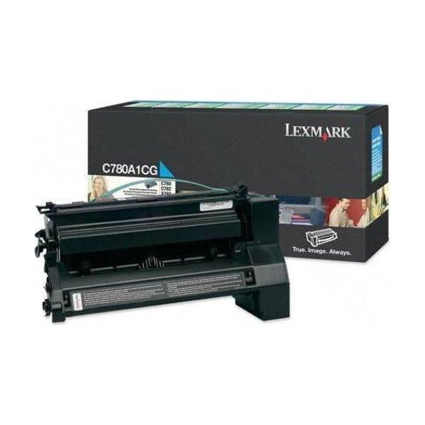 Lexmark C780A1CG lasertoner, blå, 6000s