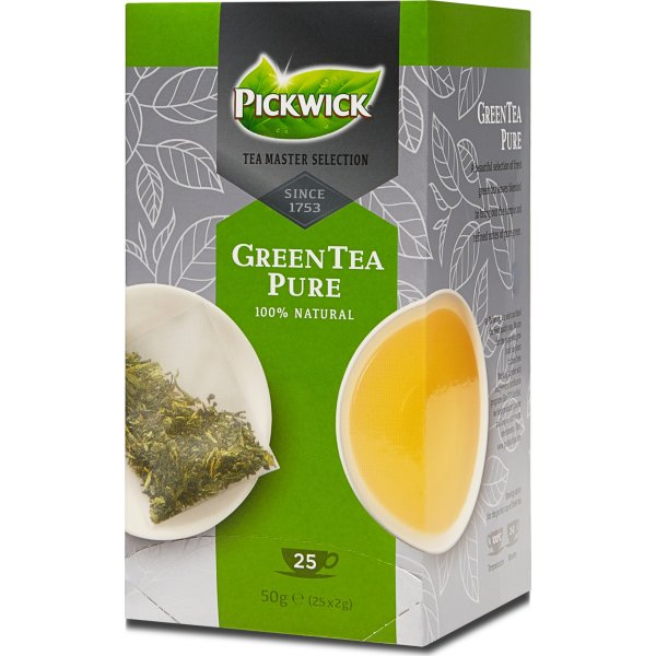 Pickwick Master Selection Green Tea Pure, 25breve