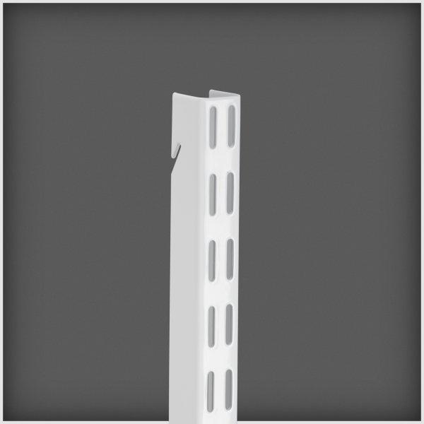 Elfa hængeskinne, længde 2012 mm, hvid