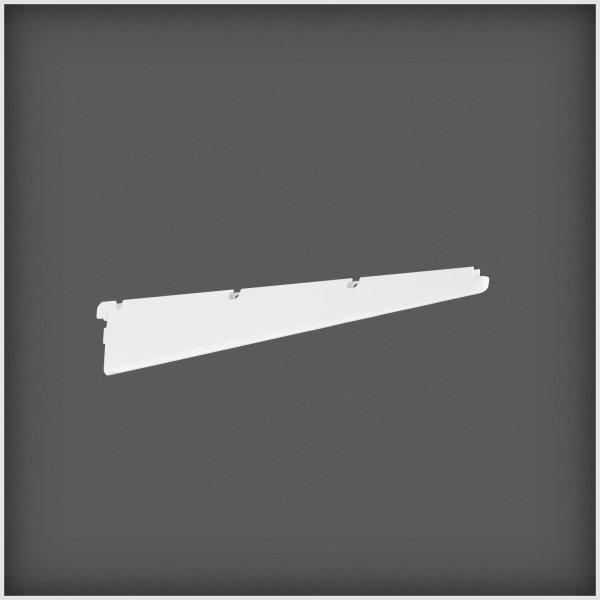 Elfa Click-in konsol 40, længde 420 mm, hvid