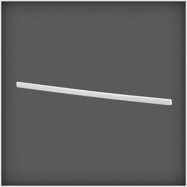 Elfa støvliste 50, højre, hvid