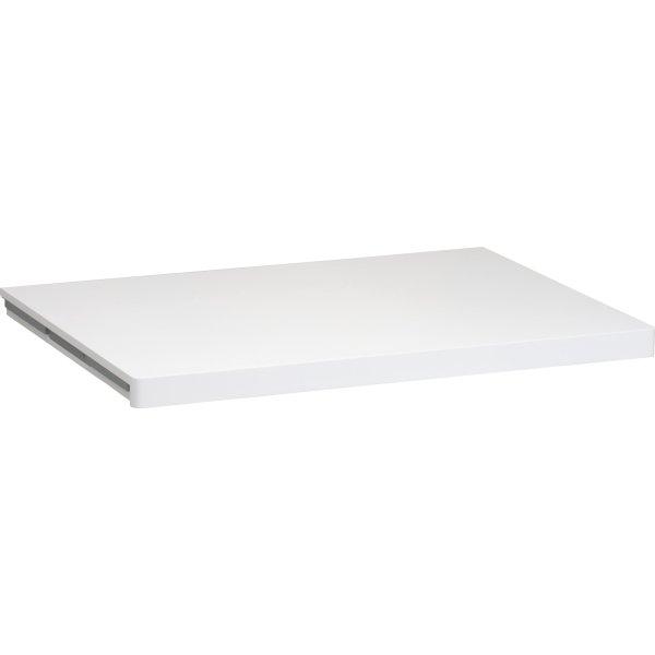 Elfa Décor hylde 40, længde 605 mm, hvid