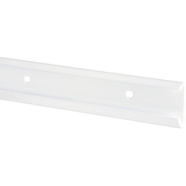 Elfa bæreliste, længde 1350 mm, hvid