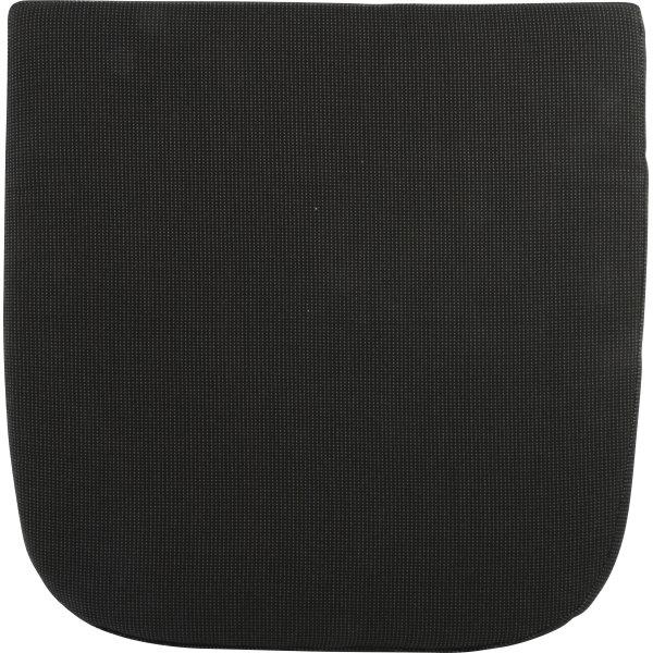Bertram sædehynde i sort til havestol, 48x48x5 cm