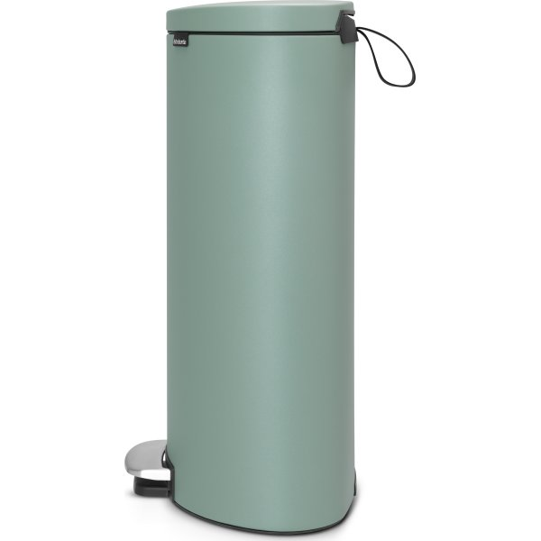 Brabantia Flatback Pedalspand 30 liter, mint
