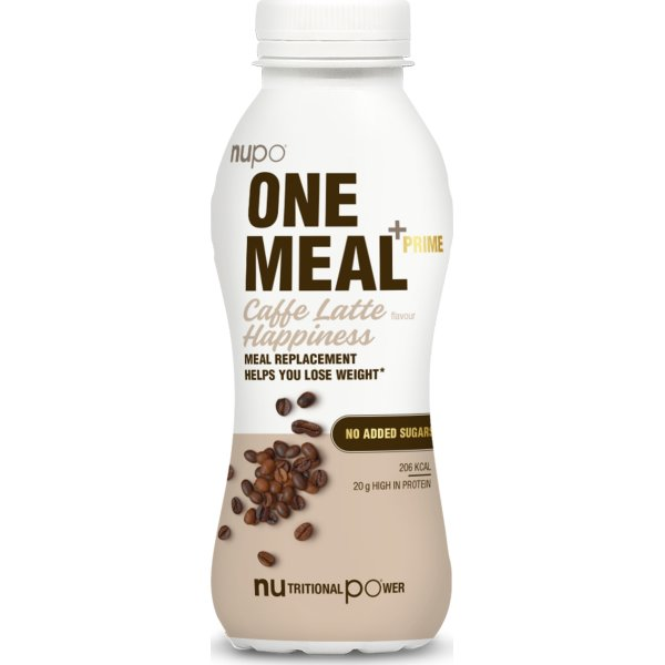 Nupo One Meal Shake Caffe Latté 330 Ml Lomax As