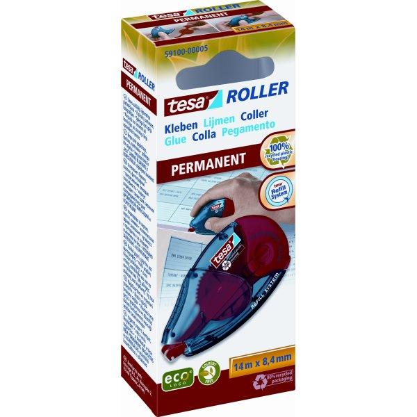 tesa EcoLogo miljøvenlig limroller, permanent