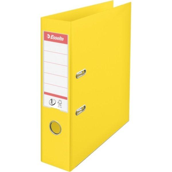 Esselte No.1 Vivida brevordner PP A4, 75 mm, gul
