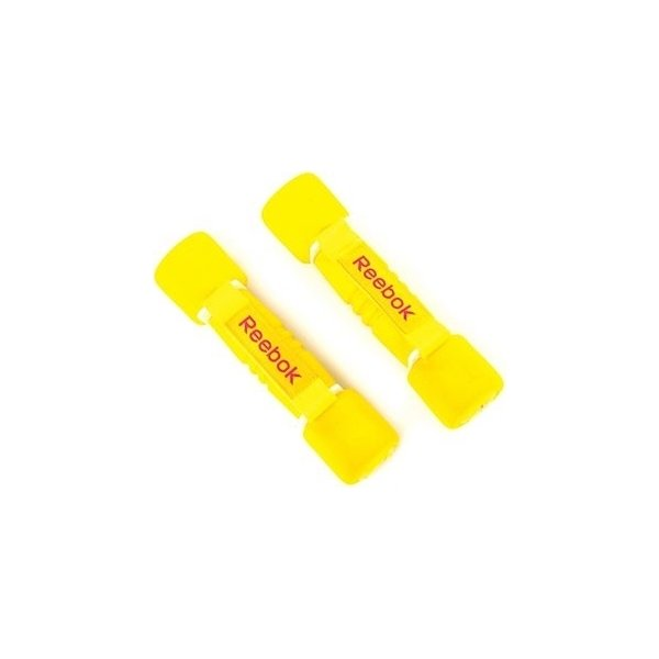 Reebok Softgrip håndvægte, 2 x 1,0 kg