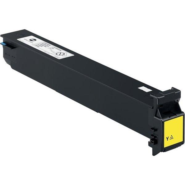 Konica minolta A0D7251 lasertoner, gul, 20000s