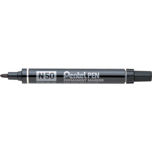 Pentel N50 permanent marker, blå