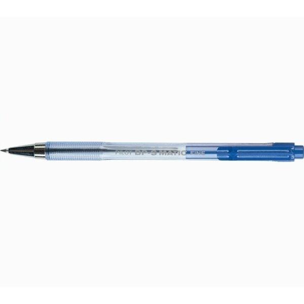 Pilot BP-S Matic kuglepen, blå