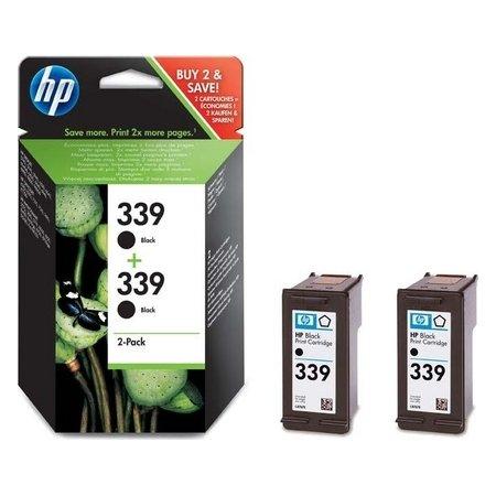 HP nr.339/C9504EE blækpatron, sort, 2stk