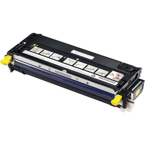 Dell 593-10173 lasertoner, gul, 8000s