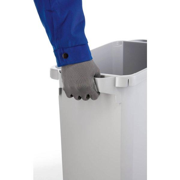 Affaldsspand 60 l, (HxBxD) 555x285x615, Grå