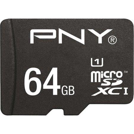PNY MicroSDXC performance 64 GB Class 10