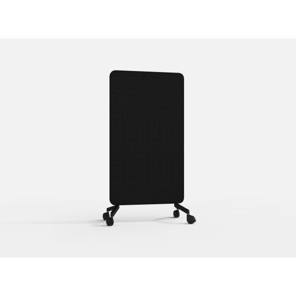 Lintex Mood Fabric Mobile 100 x 196 cm, hvid/sort