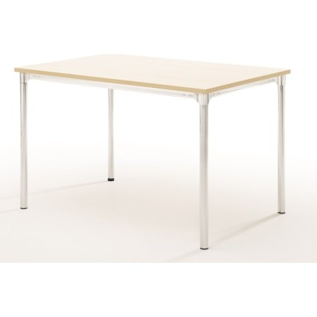 Eminent kantinebord 180x80 cm, bøg melamin, alulak
